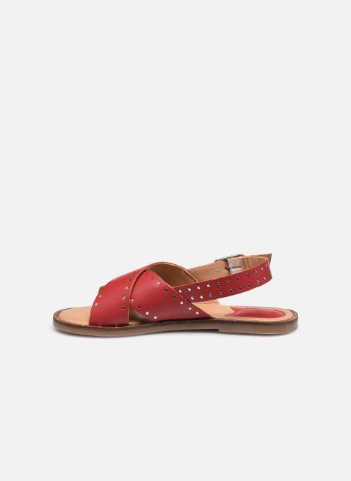 Sandali e scarpe aperte Kickers KICLA Rosso immagine frontale