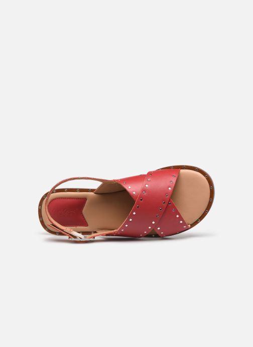 Sandali e scarpe aperte Kickers KICLA Rosso immagine sinistra