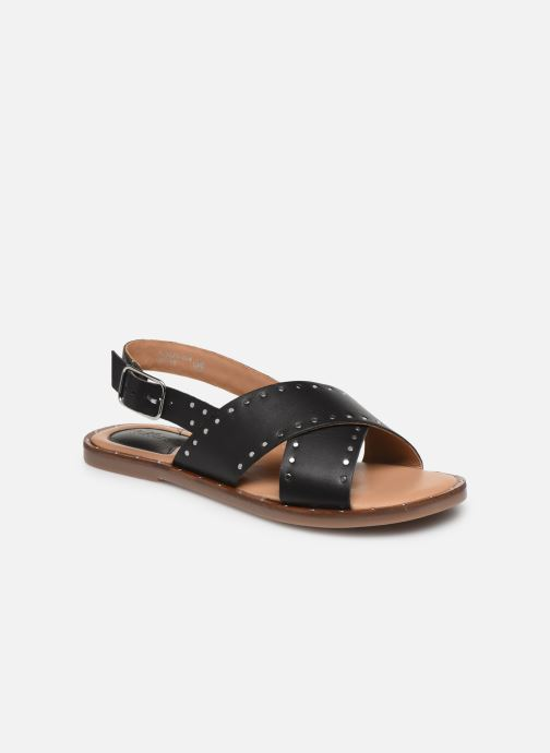 Sandales et nu-pieds Kickers KICLA Noir vue détail/paire