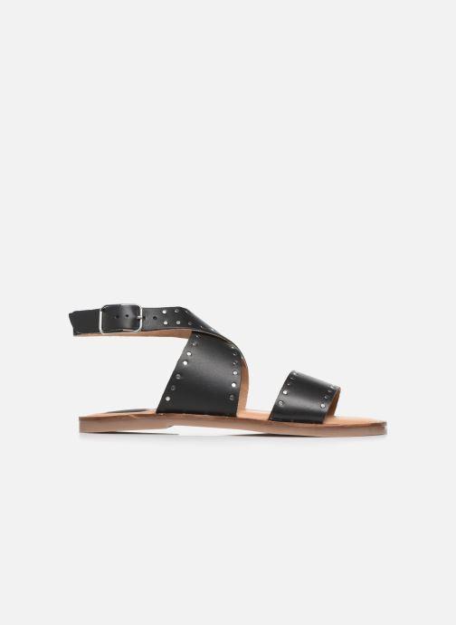 Sandales et nu-pieds Kickers KICLANA Noir vue derrière