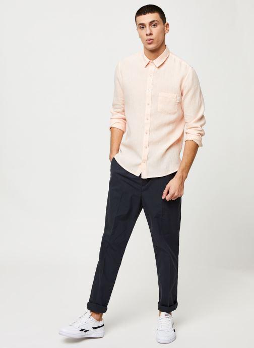 Vêtements Harris Wilson Chemise Efesio Orange vue bas / vue portée sac