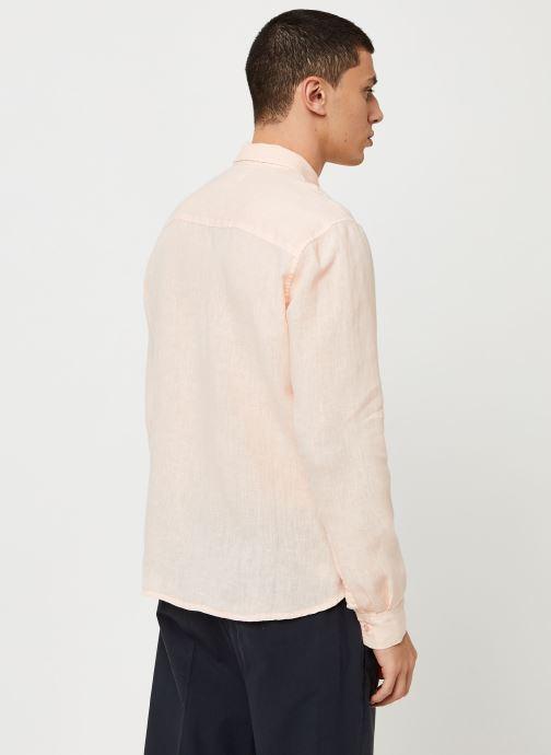 Vêtements Harris Wilson Chemise Efesio Orange vue portées chaussures