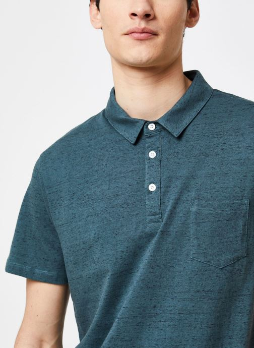 Vêtements Harris Wilson Polo Hanza Vert vue face