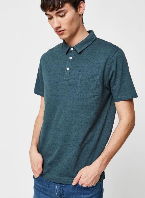 Vêtements Harris Wilson Polo Hanza Vert vue droite