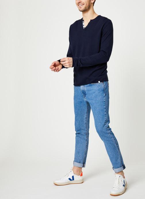 Vêtements Harris Wilson Pull Gabin Bleu vue bas / vue portée sac