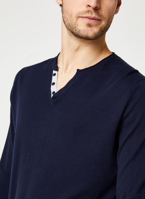 Vêtements Harris Wilson Pull Gabin Bleu vue face