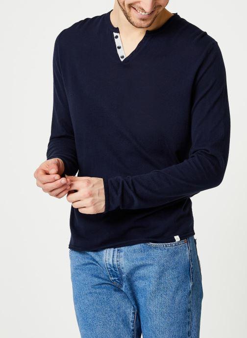 Vêtements Harris Wilson Pull Gabin Bleu vue droite