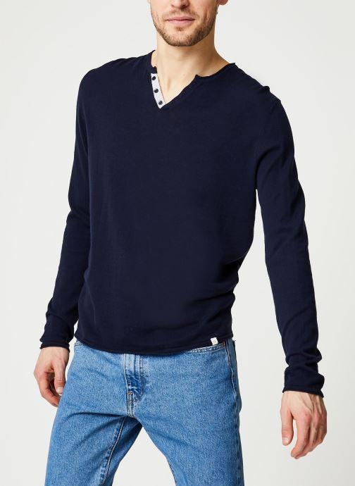 Vêtements Harris Wilson Pull Gabin Bleu vue détail/paire