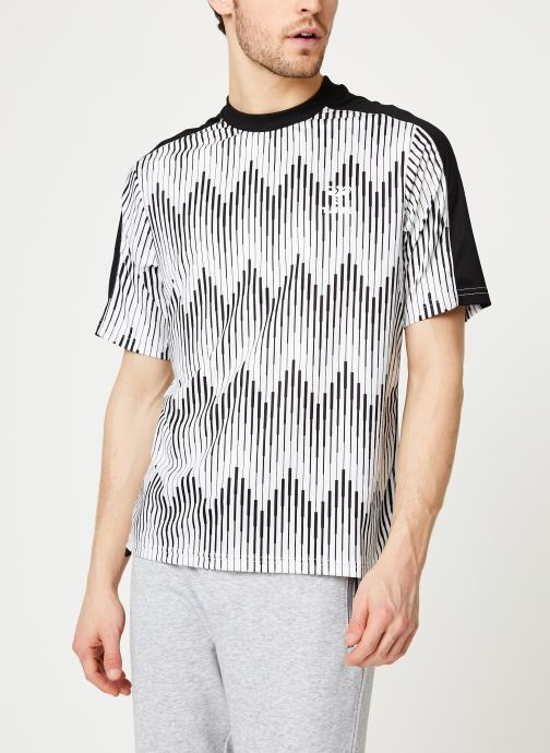 Kleding Hummel Hmlblaze T-shirt SS - Selectionné par Mister V - Wit detail