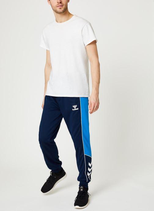 Vêtements Hummel Hmllian Regular Pants - Selectionné par Mister V - Bleu vue bas / vue portée sac