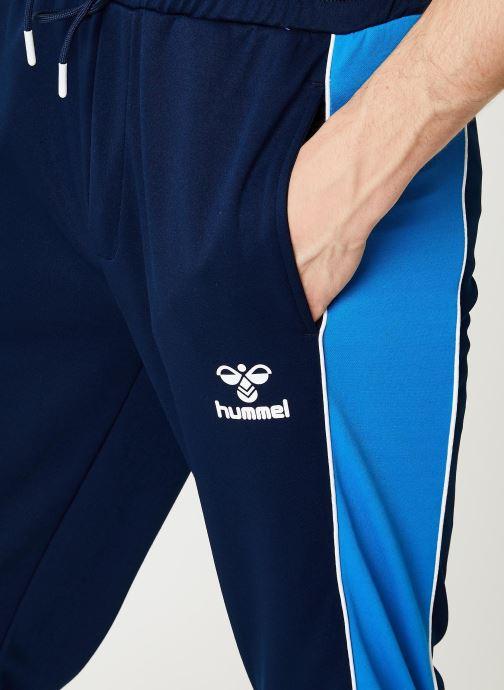 Vêtements Hummel Hmllian Regular Pants - Selectionné par Mister V - Bleu vue face