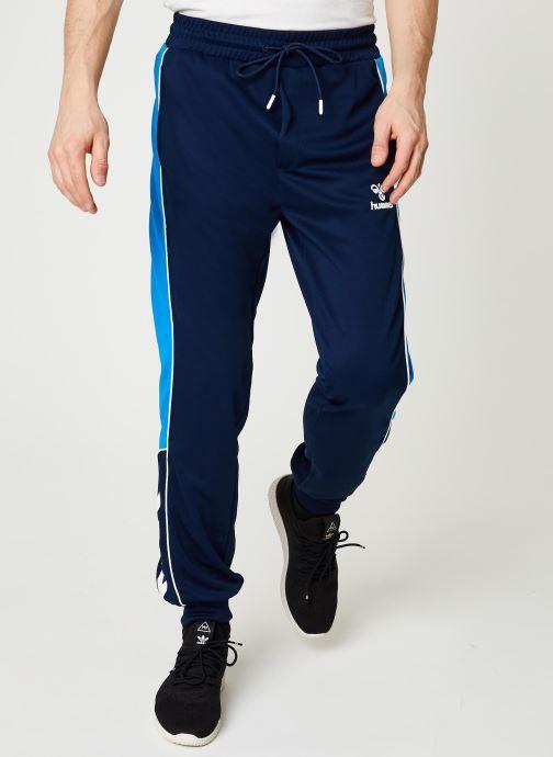 Vêtements Hummel Hmllian Regular Pants - Selectionné par Mister V - Bleu vue détail/paire