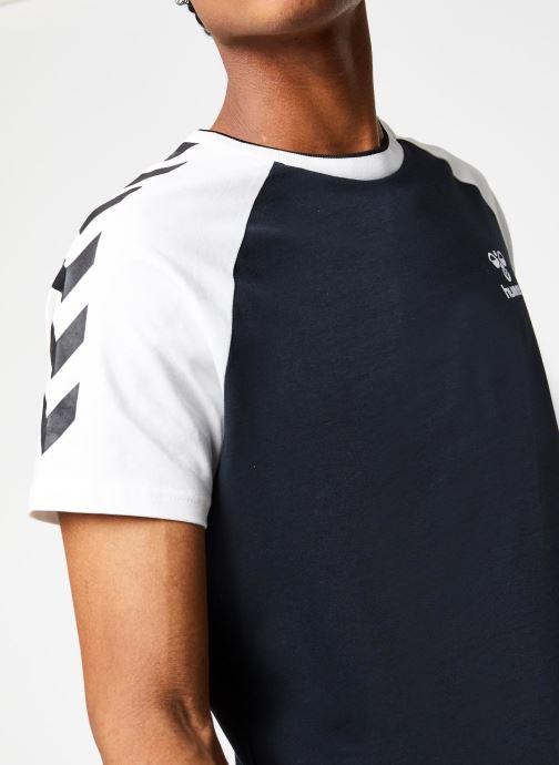 Vêtements Hummel Hmlmark T-shirt S/S Noir vue face