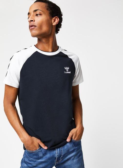 Vêtements Hummel Hmlmark T-shirt S/S Noir vue droite