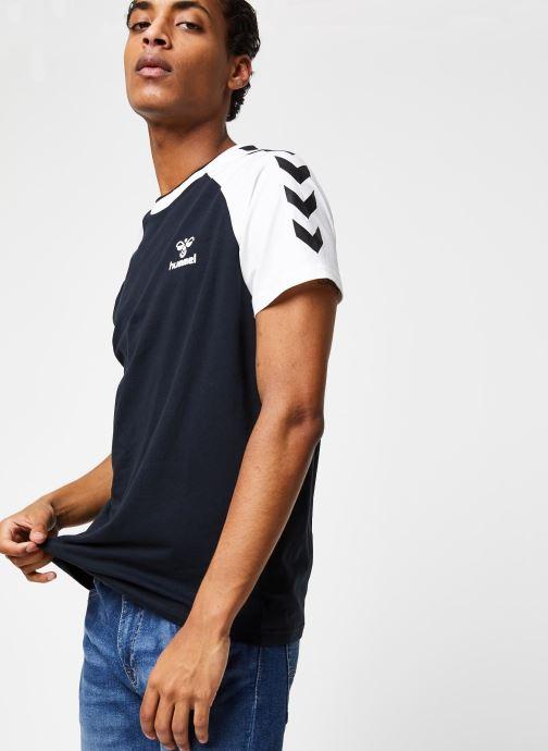 Vêtements Hummel Hmlmark T-shirt S/S Noir vue détail/paire