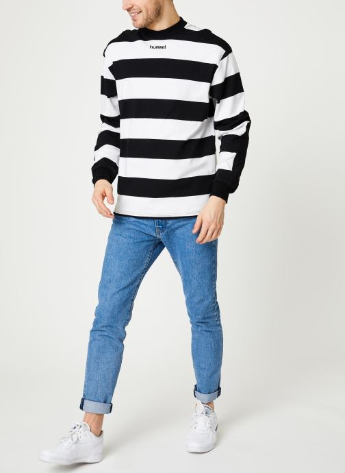 Kleding Hummel Hmlcold Hawaii Loose Sweatshirt - Selectionné par Mister V - Zwart onder