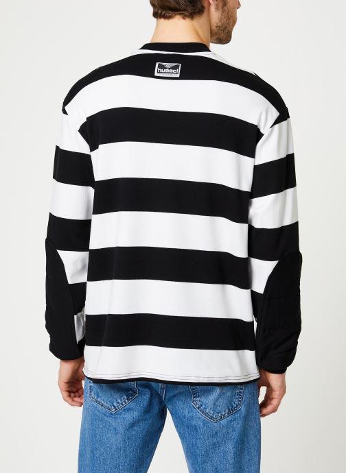 Kleding Hummel Hmlcold Hawaii Loose Sweatshirt - Selectionné par Mister V - Zwart model