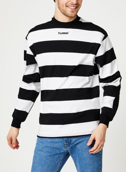 Kleding Hummel Hmlcold Hawaii Loose Sweatshirt - Selectionné par Mister V - Zwart rechts