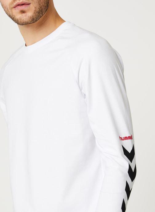 Hummel Hmlkrovej T-shirt L/S (Blanc) - Vêtements chez Sarenza (428521)