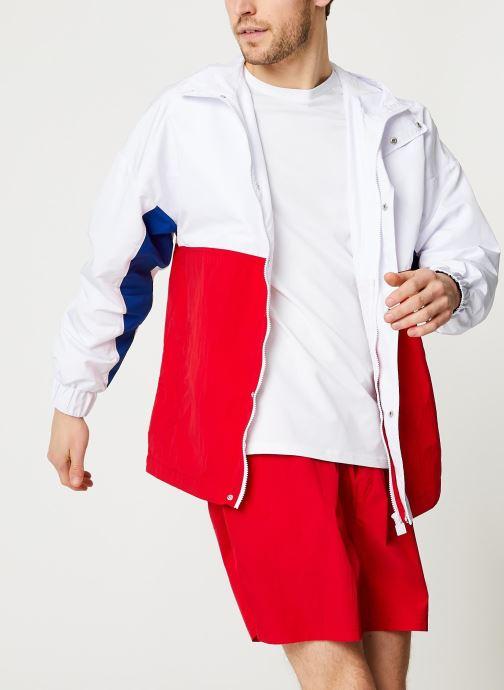 Vêtements Hummel Hmlvejr Loose Zip Jacket - Selectionné par Mister V - Rouge vue détail/paire