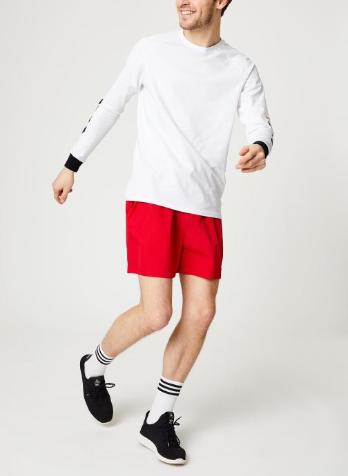 Vêtements Hummel Hmlvejr Oversized Shorts Rouge vue bas / vue portée sac