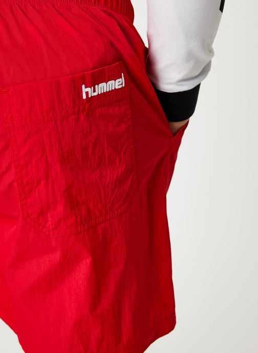 Vêtements Hummel Hmlvejr Oversized Shorts Rouge vue face