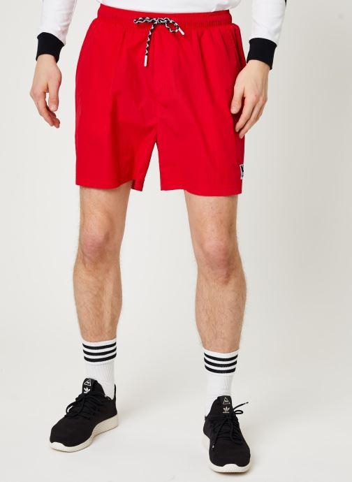 Vêtements Hummel Hmlvejr Oversized Shorts Rouge vue détail/paire