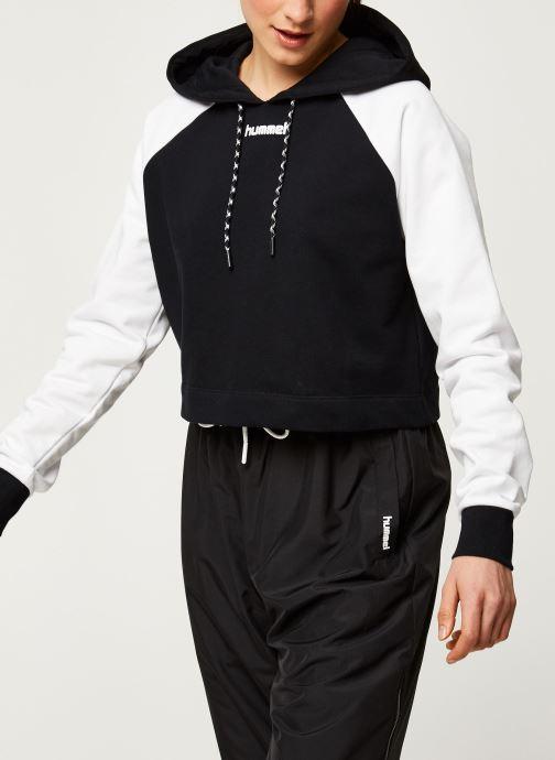 Vêtements Hummel Hmlchill Short Hoodie Noir vue droite