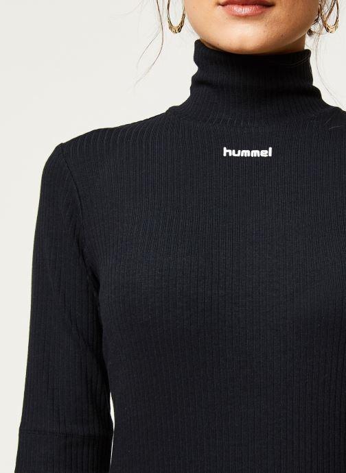 Vêtements Hummel Hmlcaroline Rib Turtleneck Noir vue face