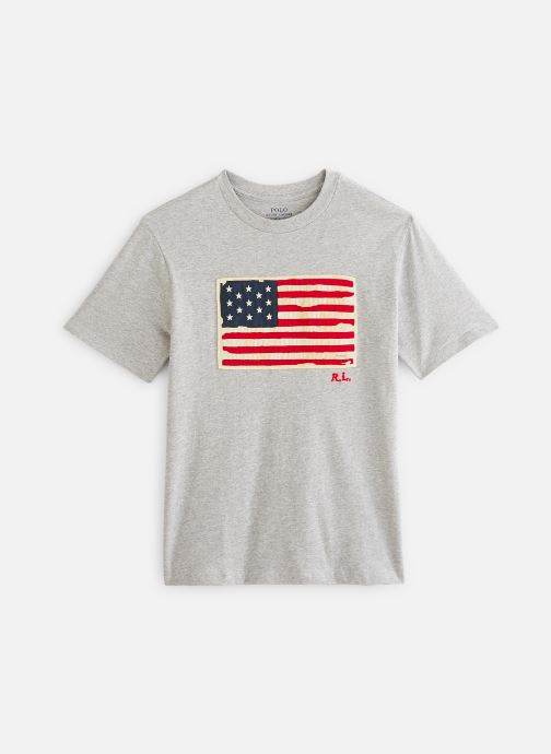 T-shirt - Ss Flag Tee-Tops-T-Shirt