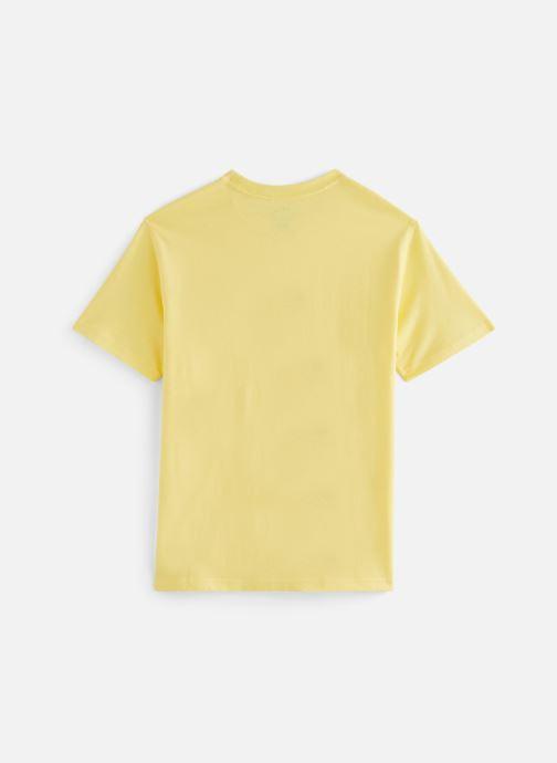 Vêtements Polo Ralph Lauren Ss Cn-Tops-T-Shirt Jaune vue bas / vue portée sac