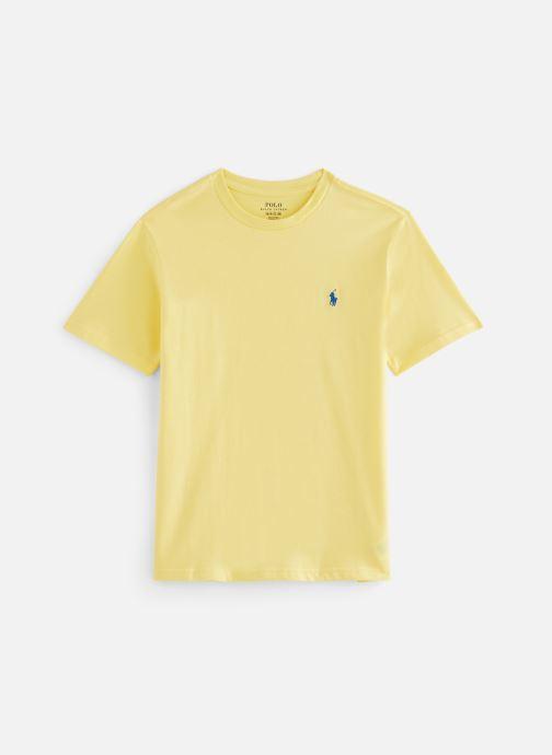 Vêtements Polo Ralph Lauren Ss Cn-Tops-T-Shirt Jaune vue détail/paire
