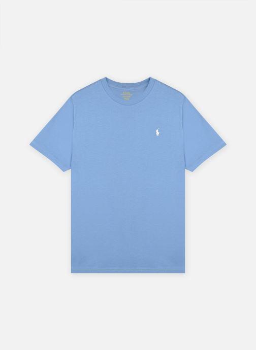 Vêtements Polo Ralph Lauren Ss Cn-Tops-T-Shirt Bleu vue détail/paire