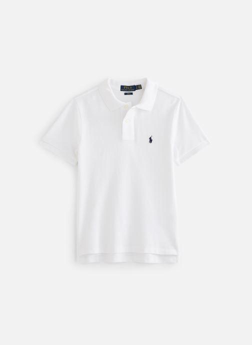 Vêtements Polo Ralph Lauren Custom Fit-Tops-Knit Blanc vue détail/paire