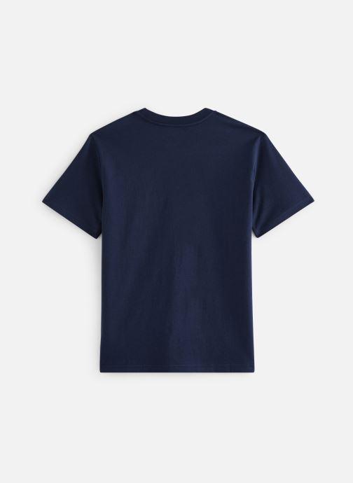 Vêtements Polo Ralph Lauren Cn Tee-Tops-Knit Bleu vue bas / vue portée sac