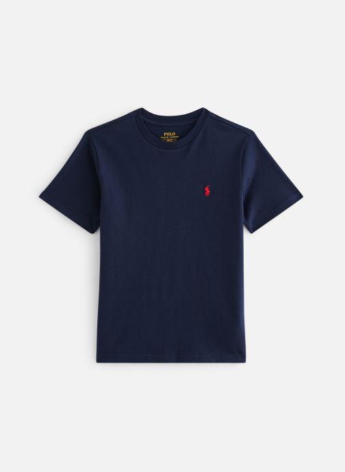 Vêtements Polo Ralph Lauren Cn Tee-Tops-Knit Bleu vue détail/paire