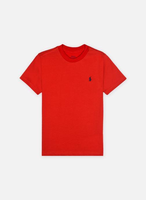 Vêtements Polo Ralph Lauren Cn Tee-Tops-Knit Rouge vue détail/paire