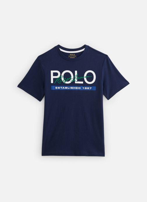 Vêtements Polo Ralph Lauren Tops-T-Shirt Bleu vue détail/paire