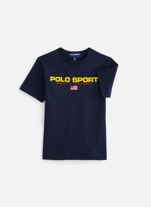Kleding Polo Ralph Lauren Ss Cn-Tops-T-Shirt PS Blauw detail