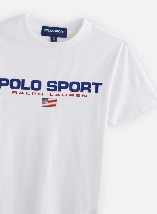 Kleding Polo Ralph Lauren Ss Cn-Tops-T-Shirt PS Wit model