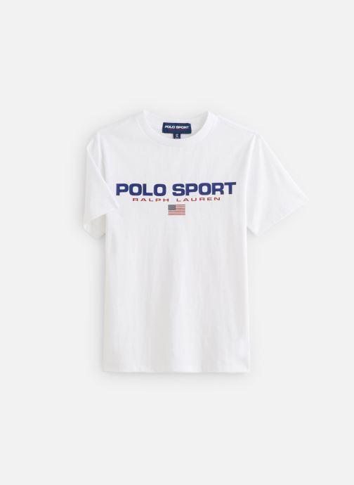 Kleding Polo Ralph Lauren Ss Cn-Tops-T-Shirt PS Wit detail