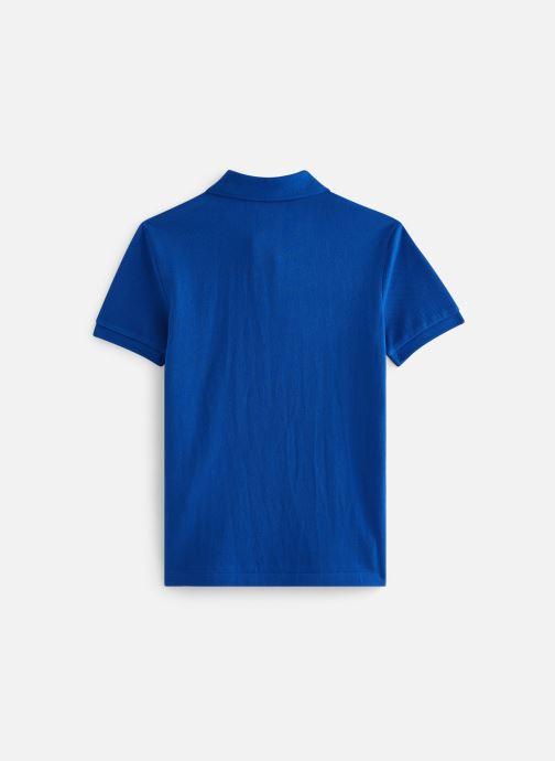 Vêtements Polo Ralph Lauren Slim Polo-Tops-Knit Bleu vue bas / vue portée sac