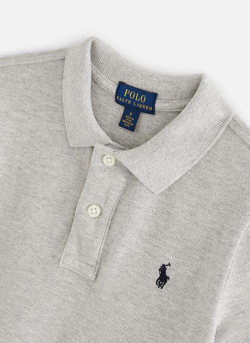 Vêtements Polo Ralph Lauren Polo-Tops-Knit Gris vue portées chaussures