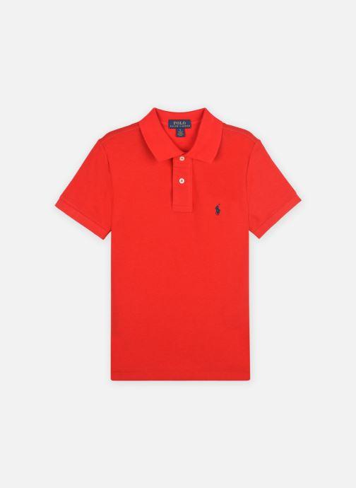 Kleding Polo Ralph Lauren Polo-Tops-Knit Rood detail