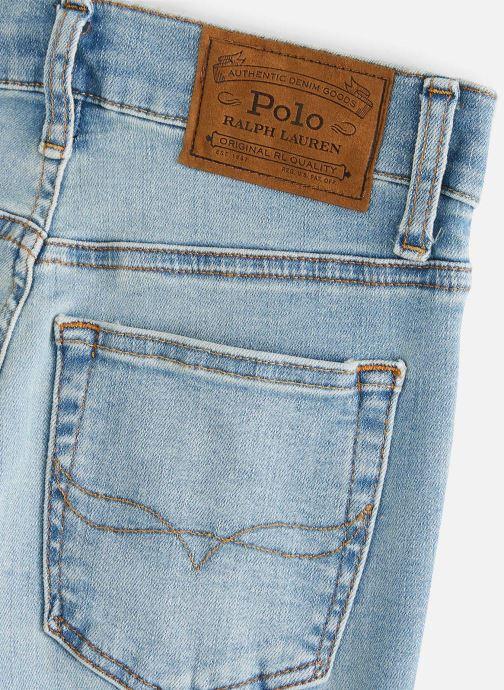 Vêtements Polo Ralph Lauren Eldridge Skn-Bottoms-Denim Bleu vue portées chaussures