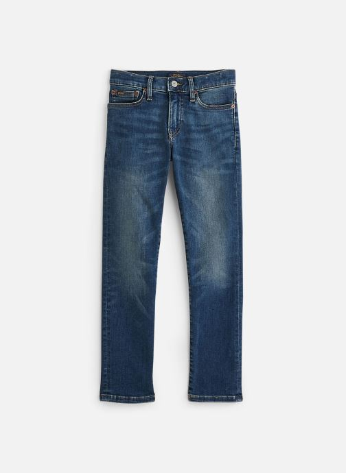 Vêtements Polo Ralph Lauren Eldridge Skn-Bottoms-Denim Bleu vue détail/paire