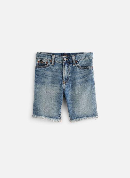 Vêtements Polo Ralph Lauren Sf Short Raw-Bottoms-Denim Bleu vue détail/paire
