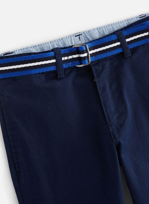Vêtements Polo Ralph Lauren Polo Pant-Bottoms-Pant Bleu vue portées chaussures