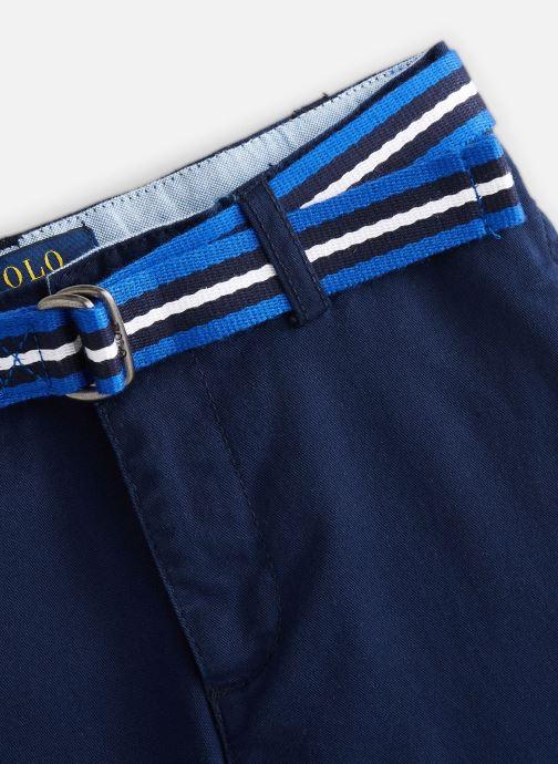 Vêtements Polo Ralph Lauren Polo Short-Bottoms-Short Bleu vue portées chaussures