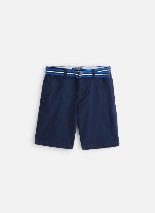 Vêtements Polo Ralph Lauren Polo Short-Bottoms-Short Bleu vue détail/paire